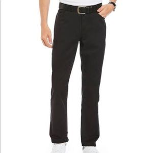 Michael Kors NWT Parker twill pants size 36 Black